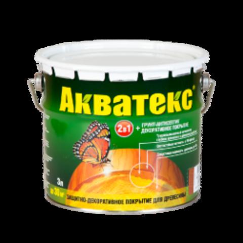 АКВАТЕКС Защитно-декоративное покрытие для древесины