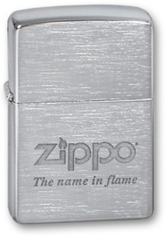 Зажигалка Zippo №200 Name in flame