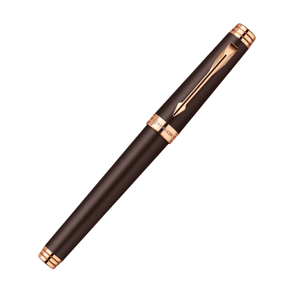 Parker Premier - Soft Brown PGT, ручка-роллер, F, BL
