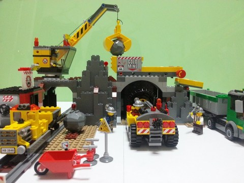 LEGO City: Шахта 4204 — The Mine