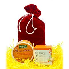 """Подарочный набор """"Оранжевая рапсодия"""" от Andalou Naturals и Organic Essence"""