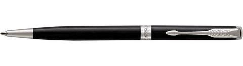 Шариковая ручка Parker Sonnet Slim Lacquer Deep Black CT123