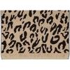 Полотенце 50x100 Cawo Instinct Leopard 563 коричневое