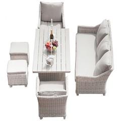 Комплект мебели Фиджи из искусственного ротанга