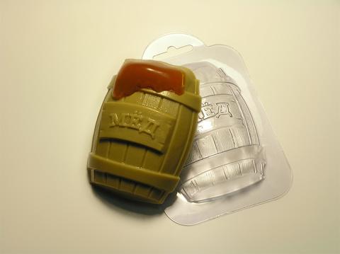 Форма для шоколада Бочка меда