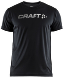 Футболка беговая Craft Prime Run Logo Black мужская