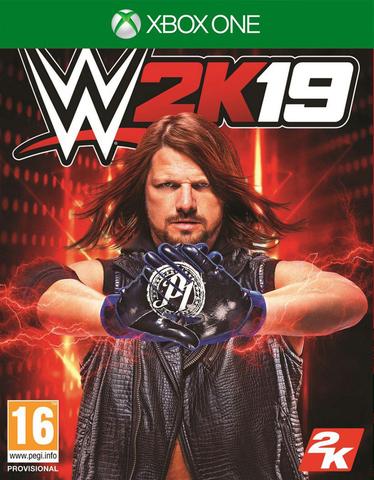 Microsoft Xbox One WWE 2K19 (английская версия)