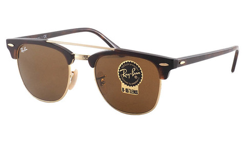 Clubmaster Doublebridge RB 3816 990/33