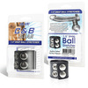 Хомут-утяжка для мошонки BlueLine SNAP BALL STRETCHER (3 - 4 см.)