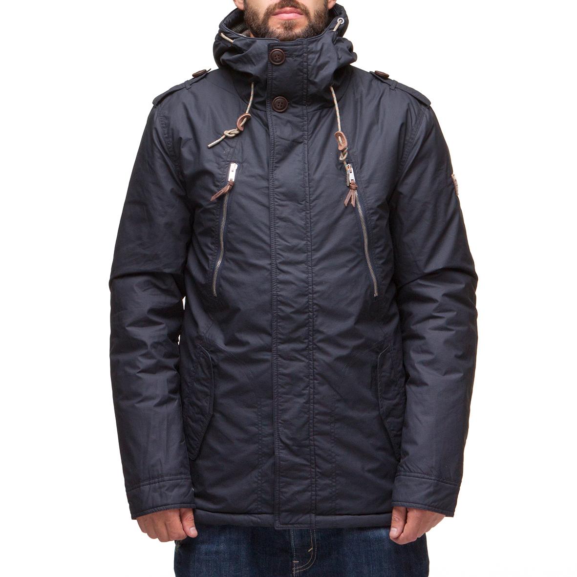 Куртка парка LOADING 1212-2 Темно-синий