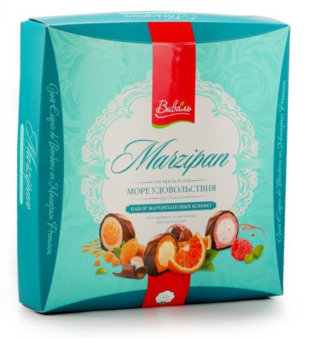ВИВАЛЬ Набор марципановых конфет