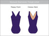 For classes. Leotards.