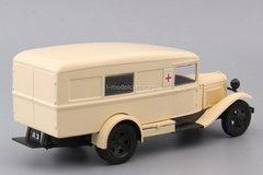 GAZ-55 sanitary ambulance beige 1:43 DeAgostini Auto Legends USSR #249