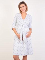 Евромама. Комплект для беременных и кормящих двухцветный, серый вид 1