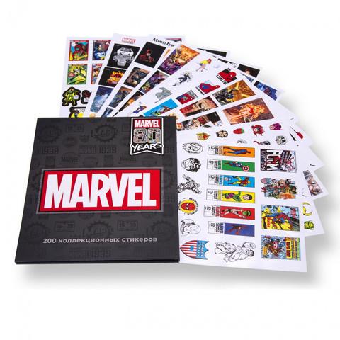 Стикербук Marvel 80 years