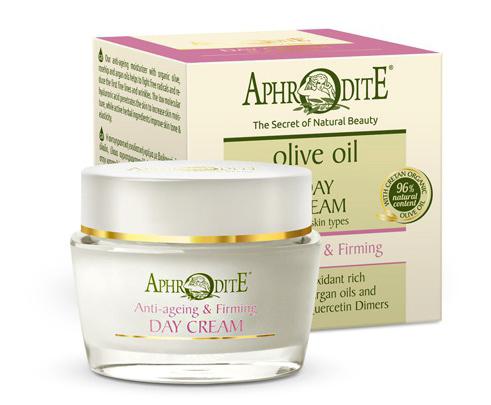 Омолаживающий укрепляющий дневной крем с гиалуроновой кислотой, Aphrodite