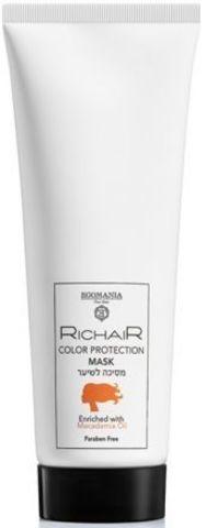 Маска «Защита цвета» с маслом макадами, Richair Egomania,250 мл.