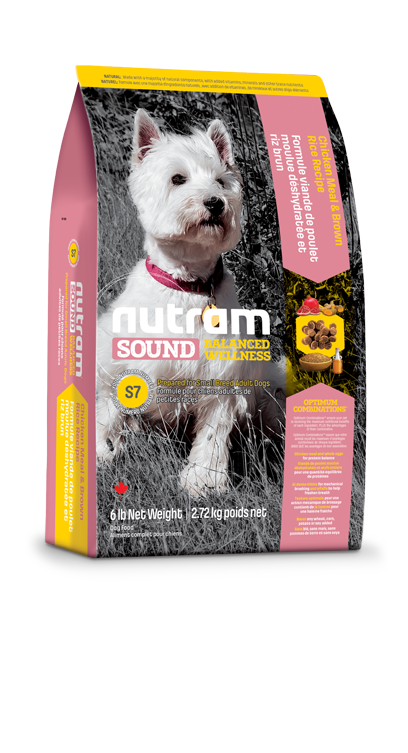 Сухой корм Корм для мелких собак Nutram S7 g91ppa5dz646.png