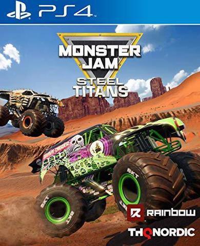 Sony PS4 Monster Jam Steel Titans (английская версия)