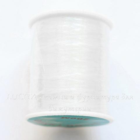 Мононить (Леска для бисера), 0,12 мм, цвет - прозрачный, 200 м