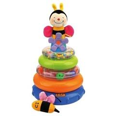 Развивающая пирамидка «Пчелка Жу-Жу» на колесиках (K`s Kids, KA583)