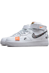"Кроссовки Nike Air Force 1 Mid ""Just Do It"" - White"