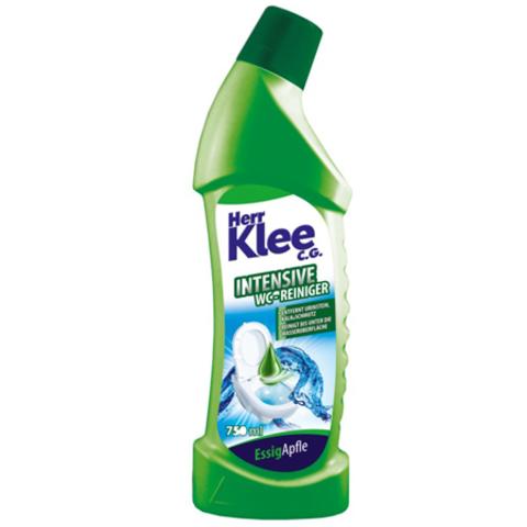 Herr Klee C.G. intensive WC Reiniger гель для чистки туалета с ароматом яблока 750 мл.