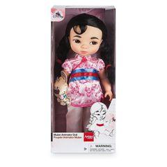 Кукла принцесса Диснея Мулан с питомцем Аниматорз