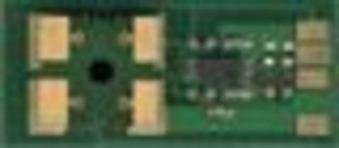 Смарт-чип Samsung CLP-Y600 yellow (желтый) chip 4K