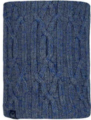 Шарф-труба вязаный с флисовой подкладкой Buff Neckwarmer Knitted Polar Idun Grey