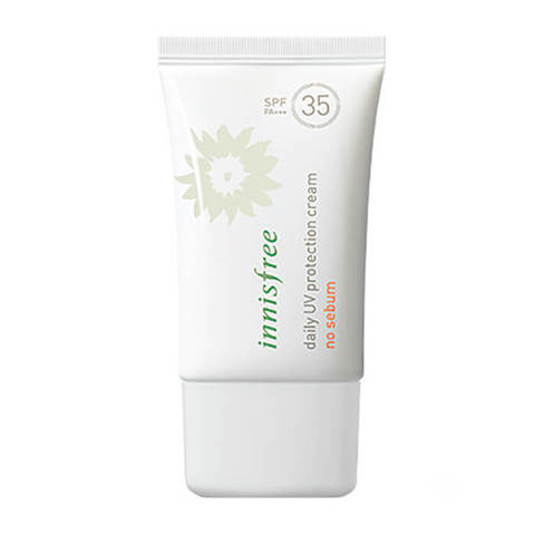 Матирующий санблок Daily UV Protection Cream No Sebum SPF35/PA+++