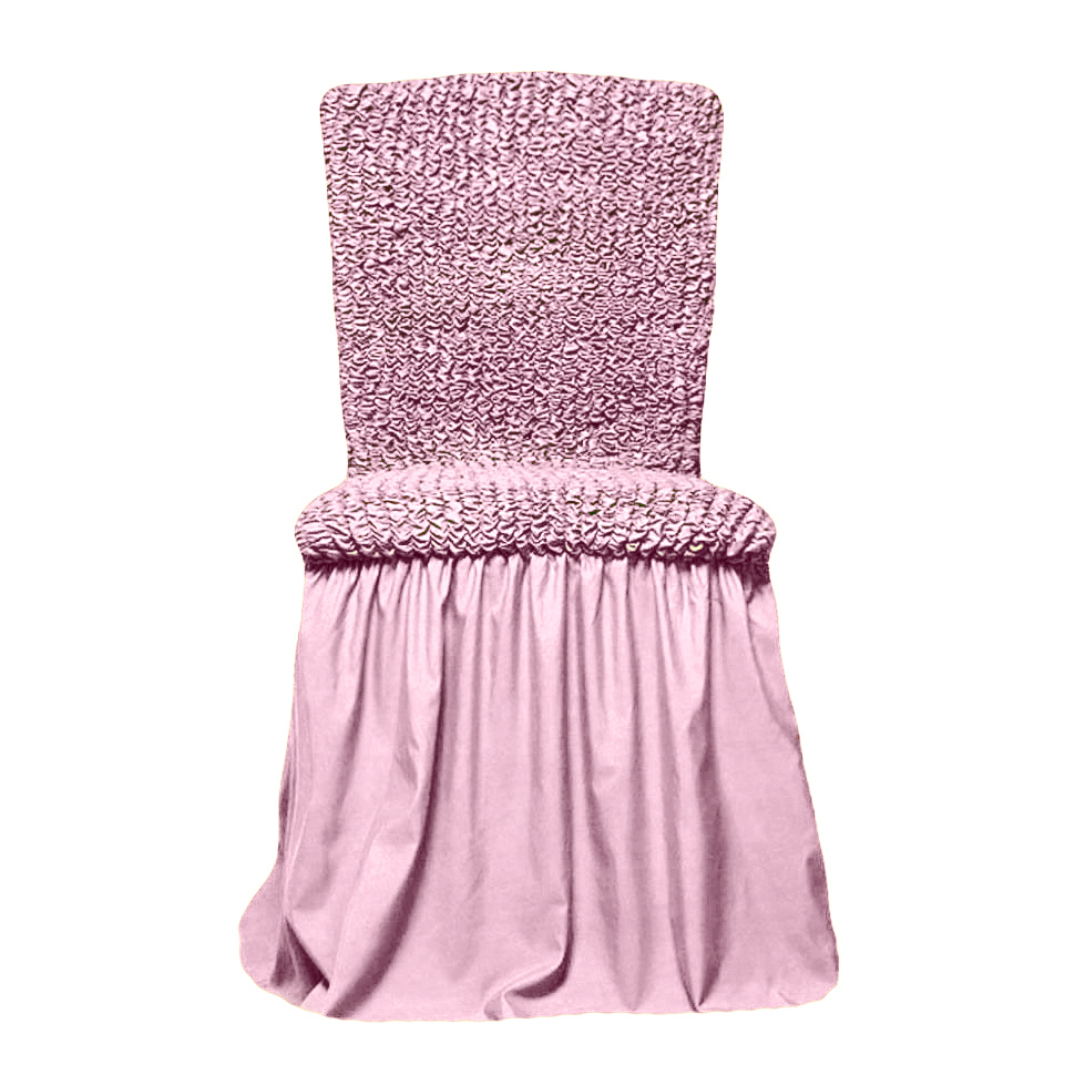 Чехол на стул, розовый