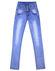 C2003 джинсы женские, голубые