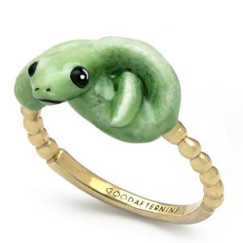 Мини-кольцо Змея