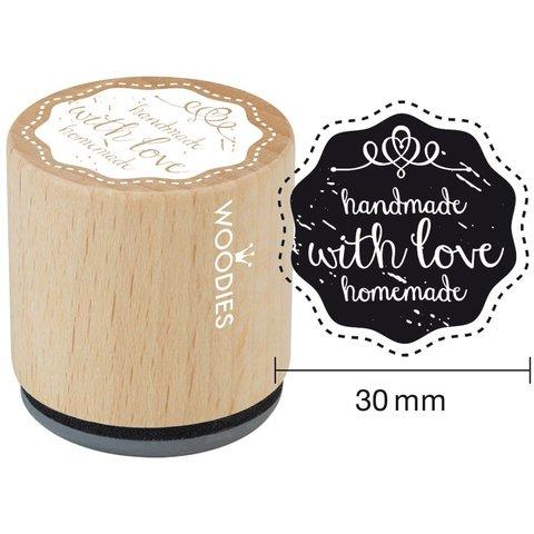 Штамп на деревянной основе  WOODIES