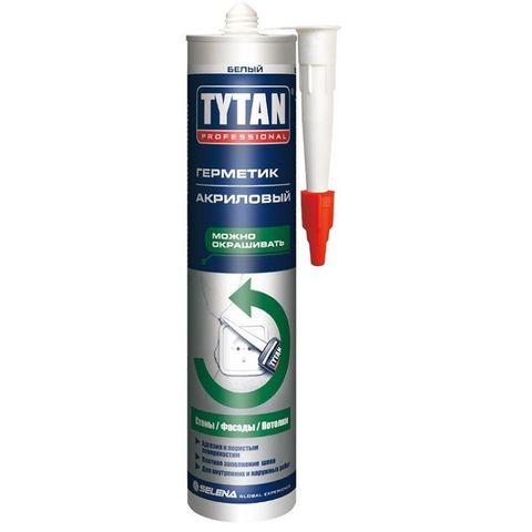 Герметик акриловый белый 310мл Tytan