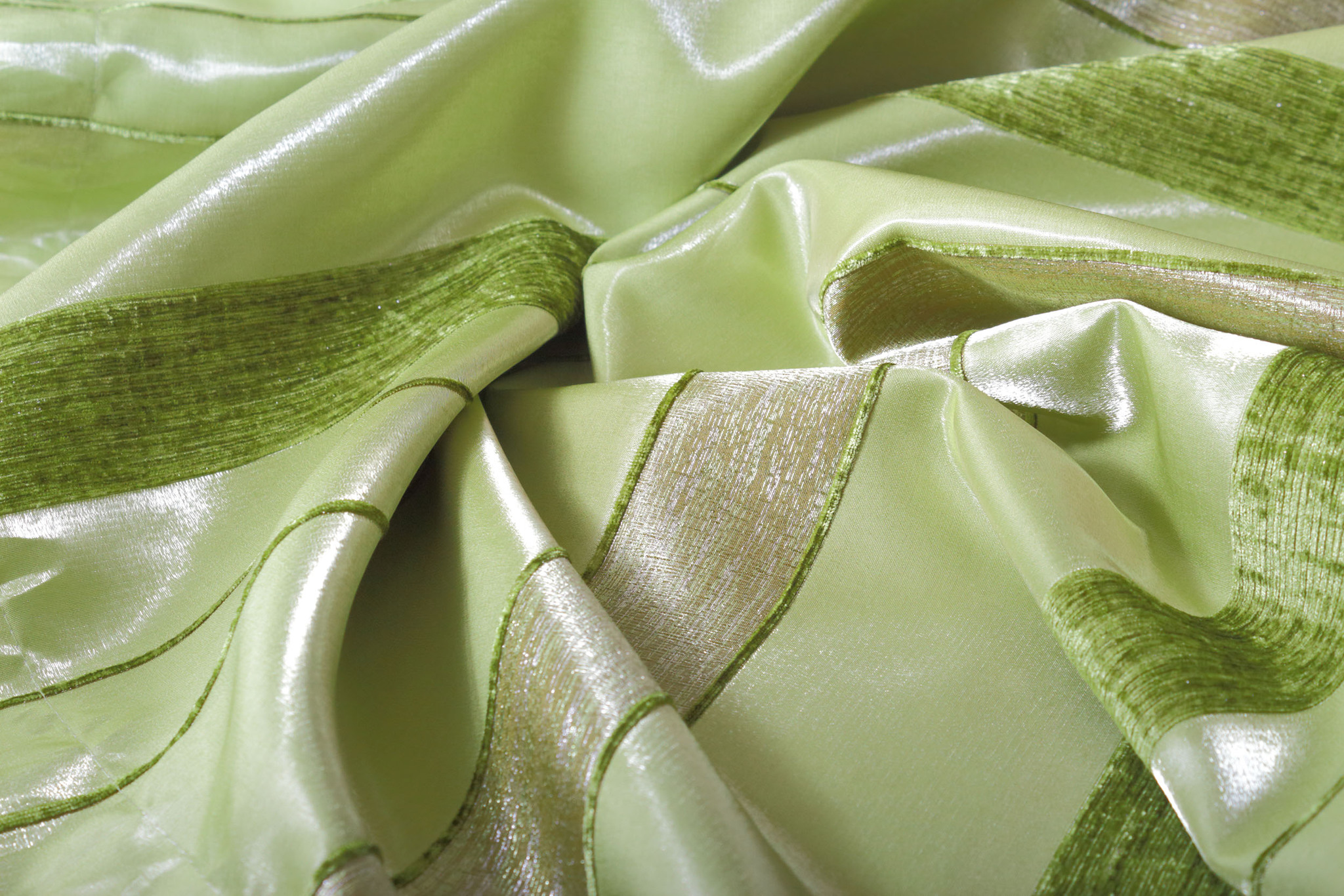 Комплект штор Monica-T (green)