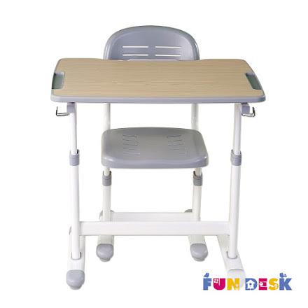 Комплект: парта и стул-трансформеры PICCOLINO II серая