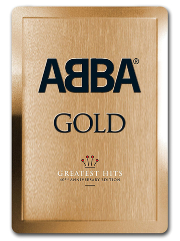 ABBA ‎/ Gold (Greatest Hits)(40th Anniversary Edition)(3CD)