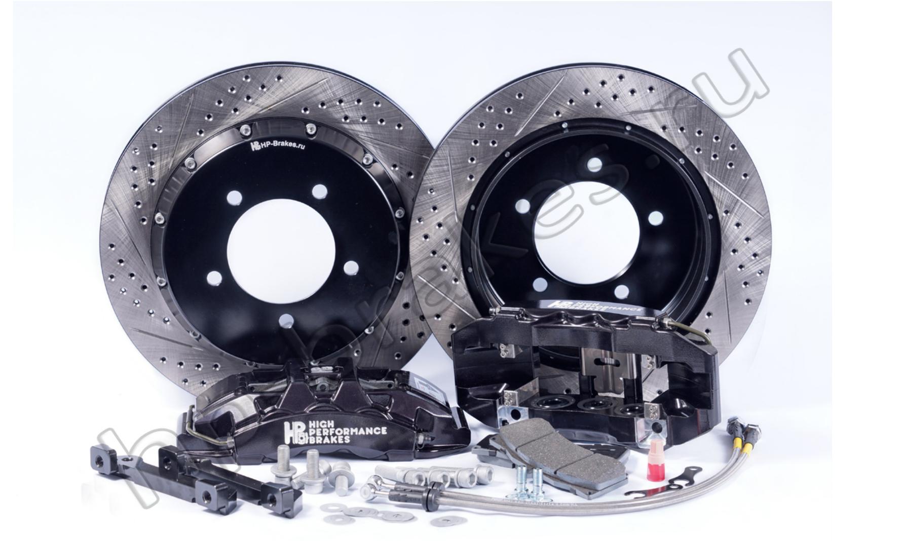 Тормозная система HP Brakes (Задняя ось, D20, 6 поршней, диск 405х34мм)