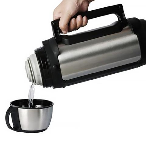 Термос универсальный (для еды и напитков) Tiger MHK-A (1,49 литра), серебристый