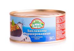 Баклажаны фаршированные в томатном соусе Delphi, 280г