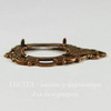 Сеттинг - основа - подвеска для камеи или кабошона 18х13 мм (оксид меди)