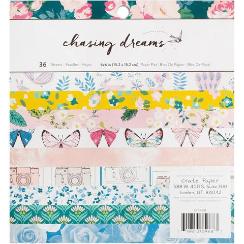 Набор односторонней бумаги-  Chasing Dreams Maggie Holmes от Crate Paper 15х15см
