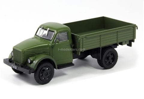 GAZ-51A khaki 1:43 DeAgostini Auto Legends USSR #147