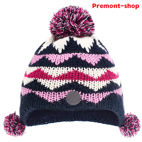 Зимняя шапка Premont WP81924 Blue для девочек