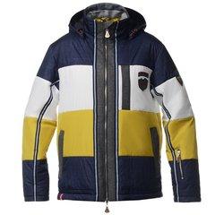Мужская горнолыжная куртка Almrausch Steinpass 320109-1833 синяя фото