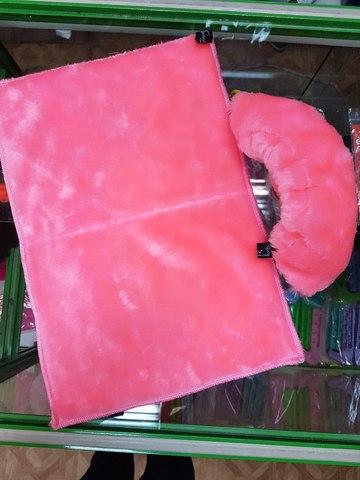 Сушки с ковриком для ног (розовый)