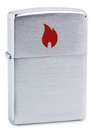 Зажигалка Zippo №200 Red Flame