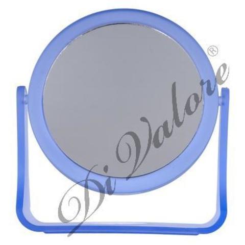 Di Valore Зеркало настольное круглое ФИОЛЕТОВОЕ матовое  114-031